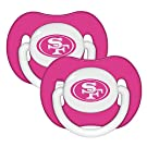 Baby Fanatic Pacifier (2 - Pack) - San Francisco 49Ers Pink