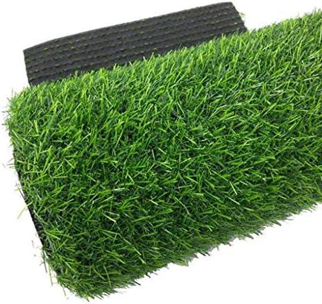 XEWNEG 20mm高密度人工屋外芝生、快適なソフトグリーンカーペットマット、接続可能、清掃が簡単、滑り止め、排水偽造芝生付き (Size : 2×3M)
