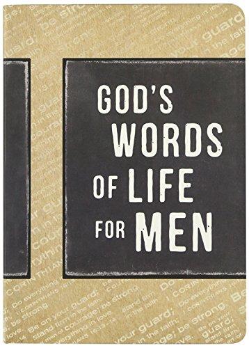 God's Words of Life for Men