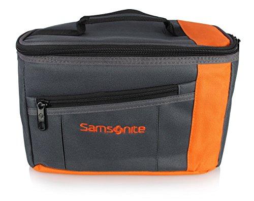 Samsonite SH6598 Personal Cooler Bag, Grey/Orange, Medium