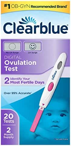 Clearblue Digital Ovulation Test, 20 Ovulation Tests