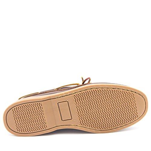 Cordones CASTELLANISIMOS Nauticos Zapatos Hombre Piel con Marron 101101 CASTELLANÍSIMOS rxftq0r