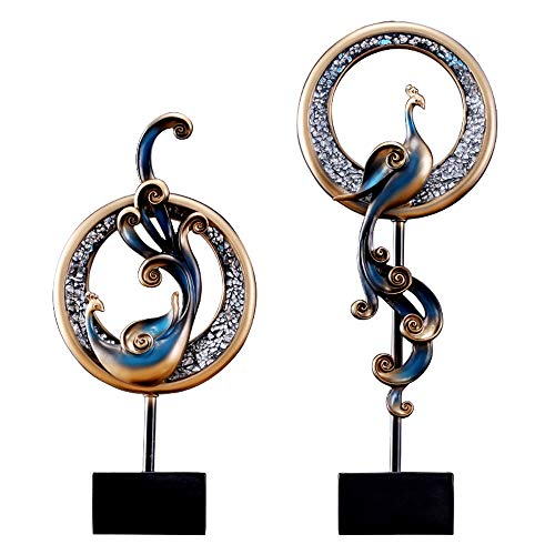 MSchunou European Color Phoenix Home furnishings Ornaments Ornaments Living Room Porch furnishings Office Interior Art Ornaments (Size : Small) -
