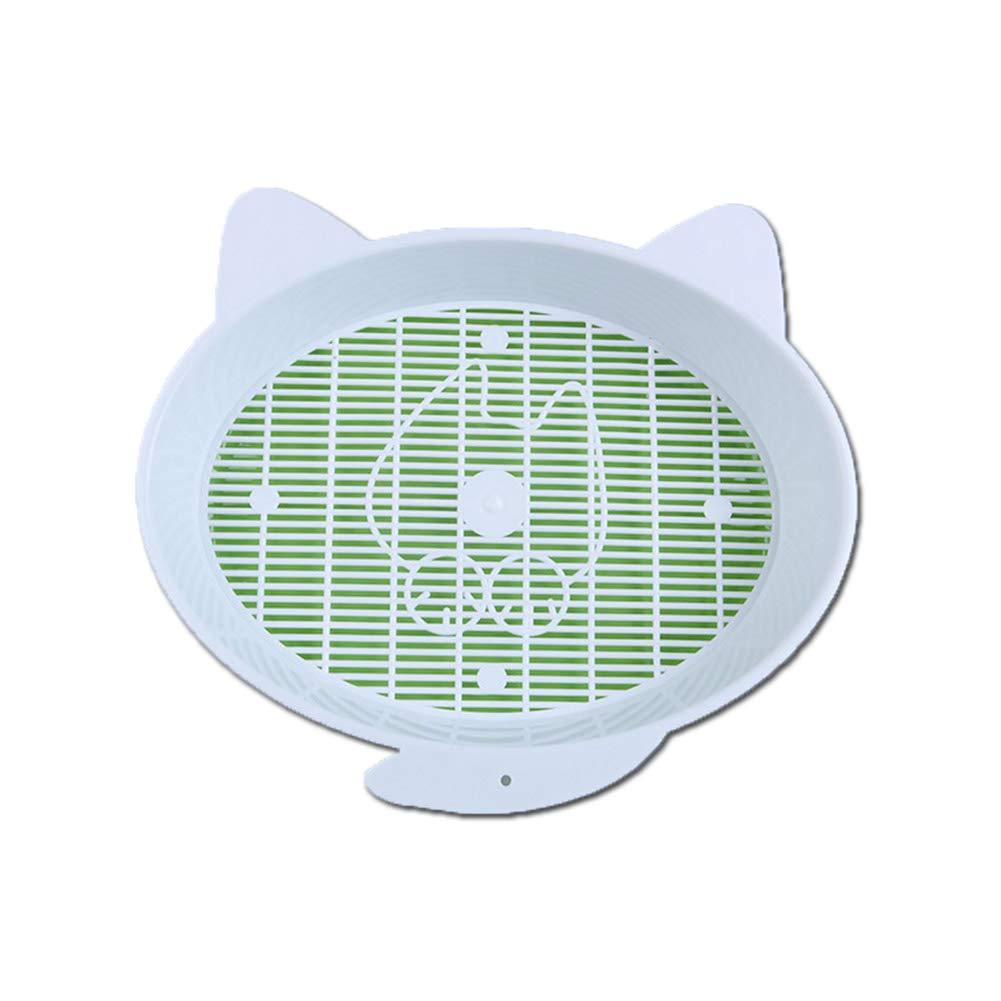 Sungpunet 1 Conjunto de Bonitas Comic de Gato Caja de Arena Creativo Doble Gatos de WC Portable halbgeschlossenen Mascotas Verde: Amazon.es: Hogar