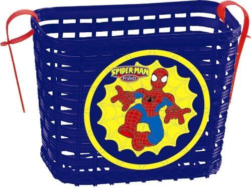 Spiderman - Cesta de Bicicleta (Saica Toys 0263): Amazon.es ...