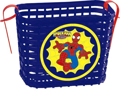 Spiderman–Bicycle Basket (Saica Toys 0263)
