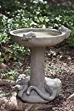 Campania International B-127-NA Catnap Birdbath, Natural Finish Review
