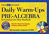 Daily Warm-Ups Pre-Algebra for Common Core State Standards, Betsy Berry, 0825168848