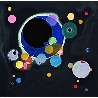 Grafika Puzzle 1500 pièces - Vassily Kandinsky - Several Circles, 1926