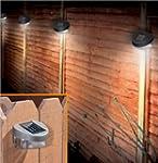 6 x SOLAR POWERED DOOR / FENCE / WALL...