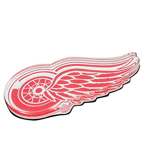 NHL Detroit Red Wings Premium Acrylic Carded Magnet