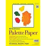 "Strathmore 365120 41 lb 40 Sheet Palette Paper Pad, 12 by 16"""