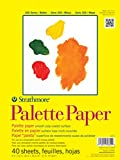 Strathmore 365-12 300 Series Paper STR-365-12 40 Sheet Disposable Palette, 12 by 16'', 12''x16'' White
