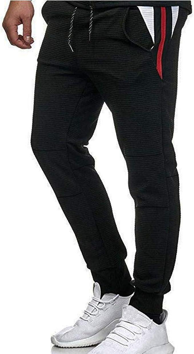 FELZ Pantalón Deporte Hombre con Bolsillos, Pantalones ...