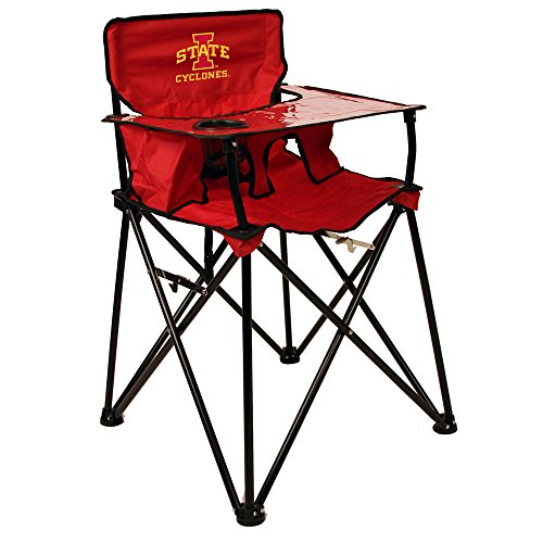 Rivalry Distributing RIV-RV230-1700 Iowa State Cyclones NCAA Ultimate Travel Child High Chair by Rivalry Distributing