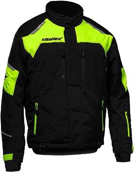 Castle X Thrust G2 Mens Snowmobile Jacket Black//Dark Gray XLG
