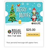 Regal Cinemas Holiday Gift Cards - E-mail Delivery