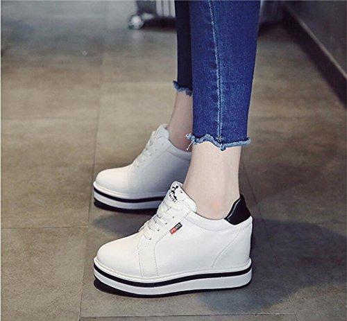 un the tren nine nine con de en Thirty grosor a estudiantes Casual zapatos aumento de zapatos Thirty las kphy blanco zapatos mujeres los de versátil y AqwdUwC
