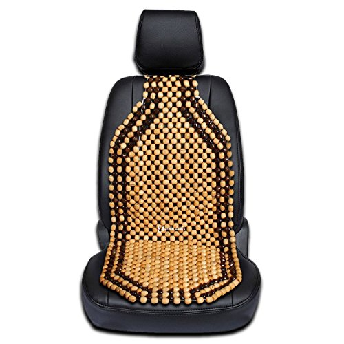 Zento Deals Wood Beaded Comfort Seat Cushion