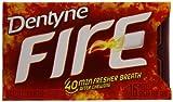 Dentyne Fire Gum, Spicy Cinnamon, 3 Count (Pack of 20)