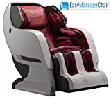 Infinity Iyashi White Berry Red Zero-Gravity Massage Chair Infinite