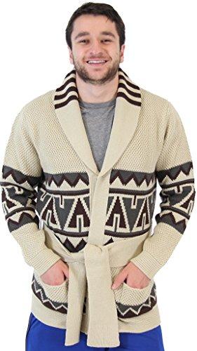 Hutchinson Top - Starsky and Hutch Paul Michael Glaser Costume Cardigan Sweater (Adult Medium)