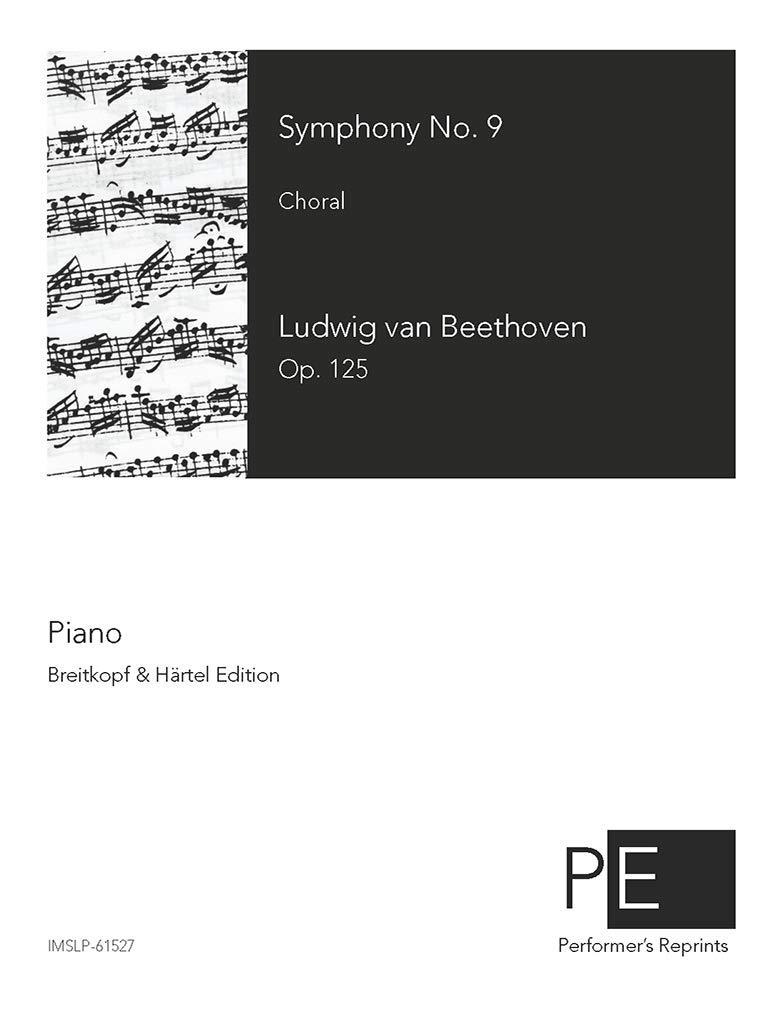 Symphony No 9 - For Piano solo (Liszt) - Score: Ludwig van