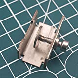 WillBest 1pcs Heated Bed Glass Adjustable clamp Clip 30mm widthen Glass Bed Clip Adjustable Reprap Prusa i3 3D Printer