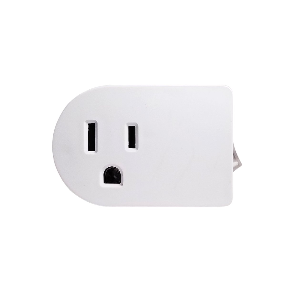 Best Rated In Electrical Light Switches Helpful Customer Reviews Wiring A Split Switched Receptacle Uninex White Grounded On Off Power Switch With Amber Etl Product Image