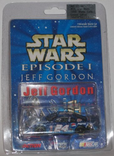 (Jeff Gordon Star Wars Episode I Limited Edition #24 1999 Monte Carlo 1:64 Scale Stock Car)
