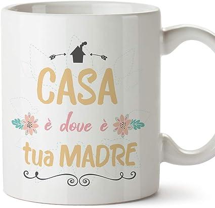 Mugffins Tazza Mamma Casa E Dove E Tua Madre Modello 5 Idee Regali Originali Festa Della Mamma Amazon It Casa E Cucina