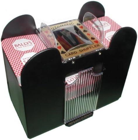 Playing 6 Decks Casino Automatic Black Poker Travel Machine