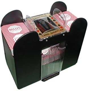 Amazon.com: Bicycle Automatic Card Shuffler Shuffles 1 Or 2 ...