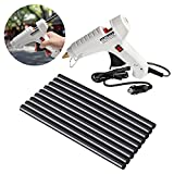Car Charger Glue Gun Kit Hot Melt Glue Sticks Automative Temperature Heating Power Fast Heat Tool for Arts,DIY Small Craft Projects,Sealing and Quick Repairs ,Car Dent Removel in Home & Office (White)