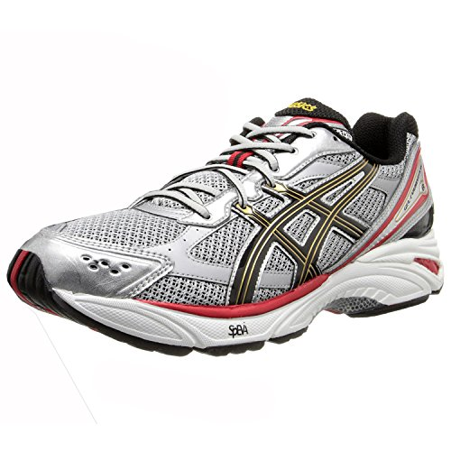 ASICS Men's Gel Foundation 8-4E Running Shoe,Lightning/Black/True Red,7.5 4E US