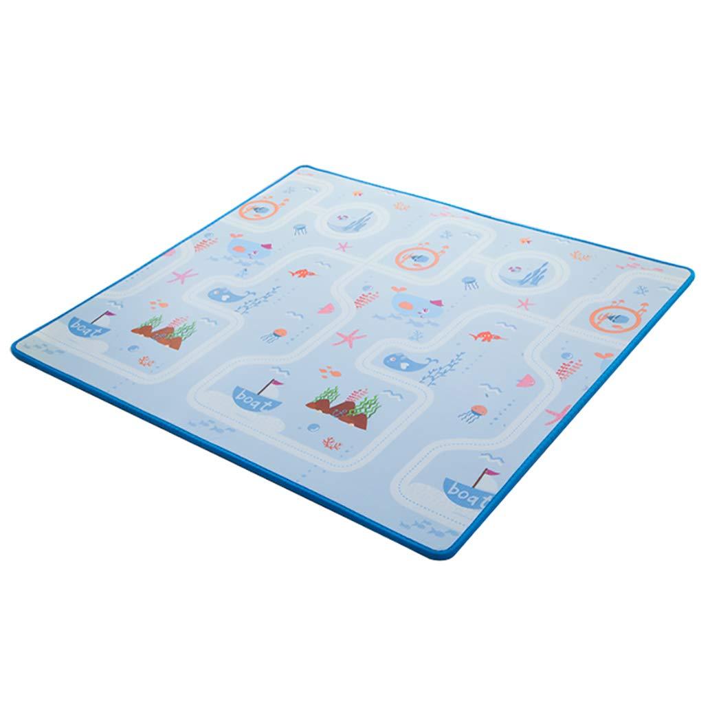 C 1501802CM JIA LIANG Tapis de Jeu en Mousse de bébé-Pliable XPE imperméable Non Toxique Tapis Rampant,C,250  180  2CM