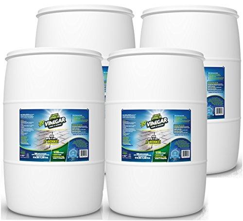 Green Gobbler Ultimate Vinegar Home & Garden - 30% Vinegar Concentrate, Hundreds of Uses! (4 x 55 Gallon Drums) from Green Gobbler