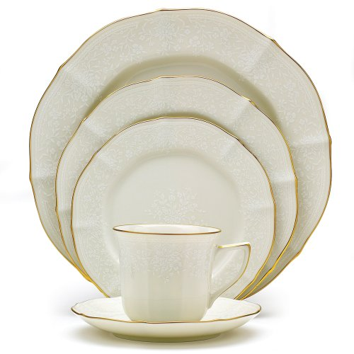 Noritake Gold Dinnerware - Noritake Chandon 5-Piece Place Setting