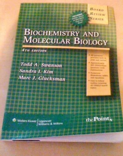 BRS Biochemistry & Molecular Biology 4th edition