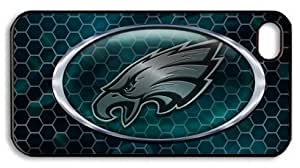 icasepersonalized Personalized Protective Case For Ipod Touch 5 Cover NFL Philadelphia Eagles, American Football