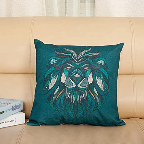 Longless Cartoon cotton linen pillow