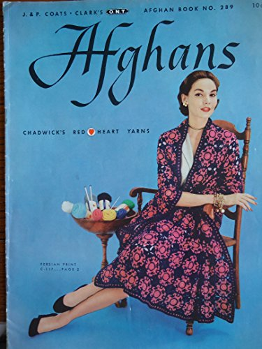 Afghans, Chadwick's Red Heart Yarns #289 Coats &