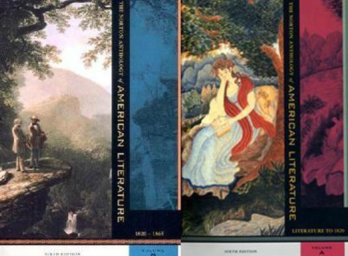 Norton Anthology of American Literature, Package 1 Volumes A-B [W W Norton & Co Inc (Np),2002] [Paperback] 6th Edition