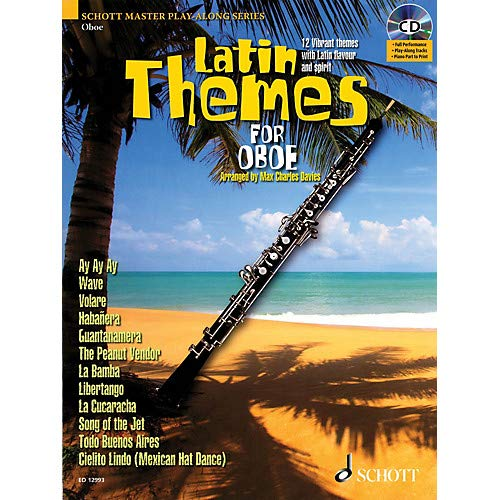Latin Themes for Oboe Instrumental Play-Along Series BK/CD Pack of 2 ()