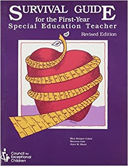 Book Survival Guide for the First-Year Special Education Teacher by Mary Kemper Cohen (1994-10-30)