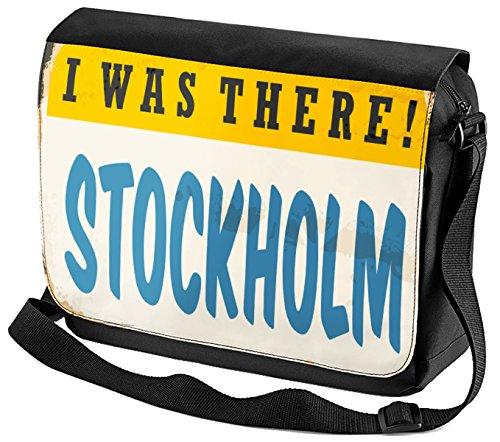 Umhänge Schulter Tasche Stadt Stockholm Schweden bedruckt rBPc6I