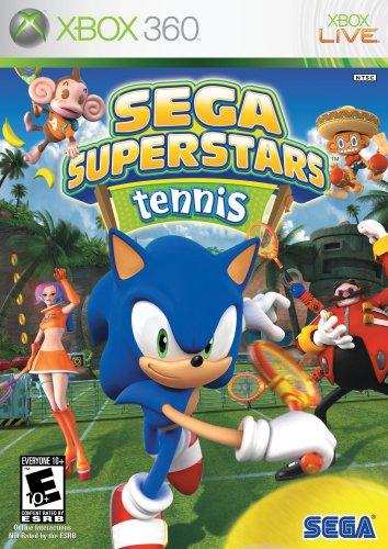 Sega Superstars Tennis Xbox 360 product image