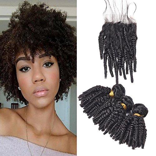 Brazilian Afro Kinky Curly Weave Human Hair 3 Bundles 14