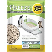 2 Pack of Purina Tidy Cats BREEZE Cat Litter Pellets Refill for Multiple Cats 3.5 lb. Pouch