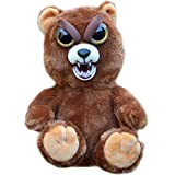 Feisty Pets Sir Growls-A-Lot- Adorable Plush Stuffed Bear that Turns Feisty with a Squeeze, 8.5' L